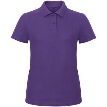 Kleidung Damen Polohemden B And C ID.001 Violett