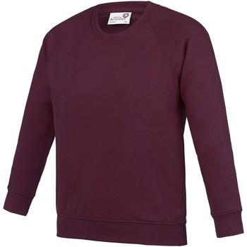 Kleidung Kinder Sweatshirts Awdis AC01J Burgunder