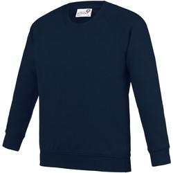 Kleidung Kinder Sweatshirts Awdis AC01J Marineblau