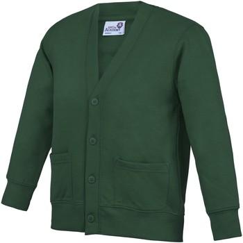 Kleidung Kinder Strickjacken Awdis Academy Grün