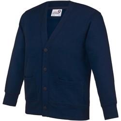 Kleidung Kinder Strickjacken Awdis Academy Marineblau