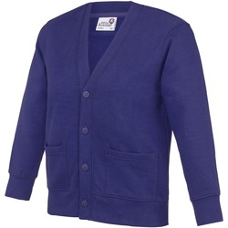 Kleidung Kinder Strickjacken Awdis Academy Violett