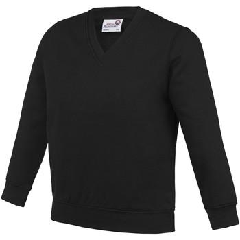 Kleidung Kinder Sweatshirts Awdis AC03J Schwarz