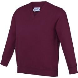 Kleidung Kinder Sweatshirts Awdis AC03J Burgunder