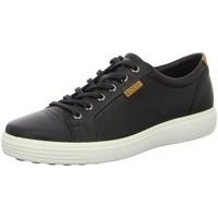 Schuhe Herren Sneaker Low Ecco Schnuerschuhe 430004/01001 schwarz