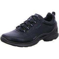 Schuhe Herren Sneaker Low Ecco Schnuerschuhe  BIOM FJUEL 837514/01001 schwarz