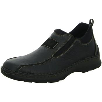 Schuhe Herren Slipper Rieker Slipper Slipper Halbschuh 05363-00 schwarz