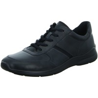 Schuhe Herren Sneaker Low Ecco Schnuerschuhe Schnürhalbschuh  IRVING 511564 02001 schwarz