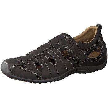 Schuhe Herren Slipper Camel Active Slipper Manila 12 292.12.09 schwarz