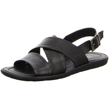 Schuhe Herren Sandalen / Sandaletten Sioux Offene Mirtas/Milito 30901 schwarz