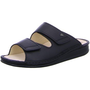 Schuhe Herren Pantoffel Finn Comfort Offene RIAD 1505-055099 schwarz
