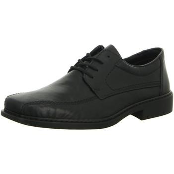 Schuhe Herren Slipper Rieker Business B0812-00 schwarz