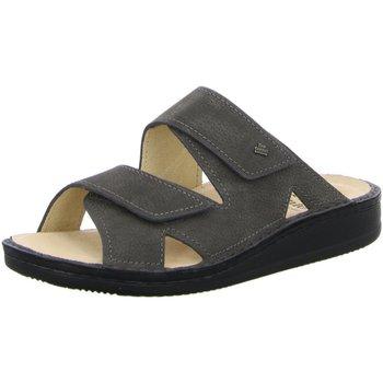 Schuhe Herren Pantoffel Finn Comfort Offene Danzig-s 81529518218 grau