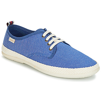 Schuhe Herren Leinen-Pantoletten mit gefloch Bamba By Victoria ANDRE LONA/TIRADOR CONTRAS Blau