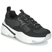 Schuhe Damen Sneaker Low Victoria AIRE NYLON/SERRAJE PU Schwarz