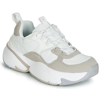 Schuhe Damen Sneaker Low Victoria AIRE NYLON/SERRAJE PU Weiss