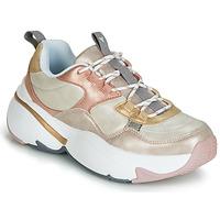Schuhe Damen Sneaker Low Victoria AIRE METALICO NACAR Beige