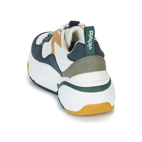 Victoria Turnschuhe MALLA MULTIMATERIAL Weiss   Marine  Schuhe Schuhe Schuhe Turnschuhe Low Damen e7e566
