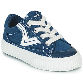 Schuhe Kinder Sneaker Low Victoria TRIBU LONA RETRO Blau