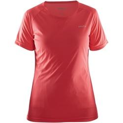 Kleidung Damen T-Shirts Craft CT86F Rot
