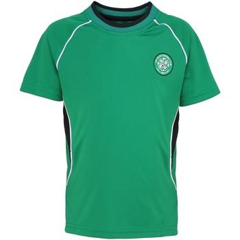 Kleidung Kinder T-Shirts Celtic Fc OF801 Grün