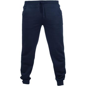 Kleidung Herren Jogginghosen Skinni Fit Cuffed Marineblau