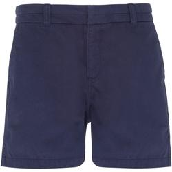 Kleidung Damen Shorts / Bermudas Asquith & Fox AQ061 Marineblau