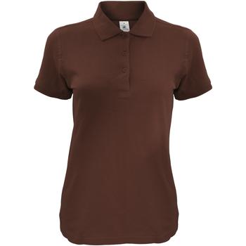 Kleidung Damen Polohemden B And C Safran Braun
