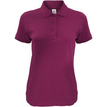 Kleidung Damen Polohemden B And C Safran Burgunder