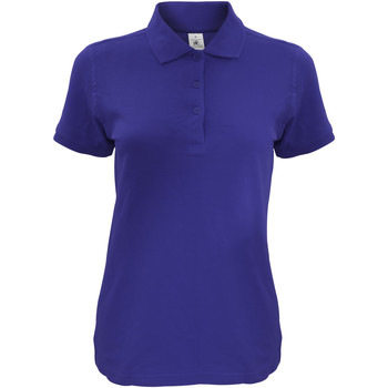 Kleidung Damen Polohemden B And C Safran Marineblau