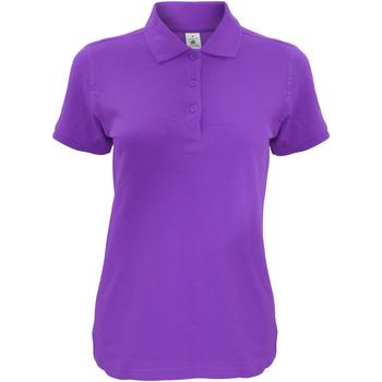 Kleidung Damen Polohemden B And C Safran Violett