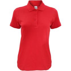 Kleidung Damen Polohemden B And C Safran Rot