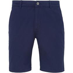 Kleidung Herren Shorts / Bermudas Asquith & Fox AQ051 Marineblau