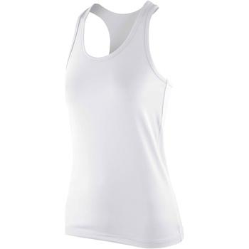 Kleidung Damen Tops Spiro S281F Weiß