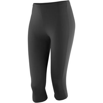 Kleidung Damen Leggings Spiro S284F Schwarz