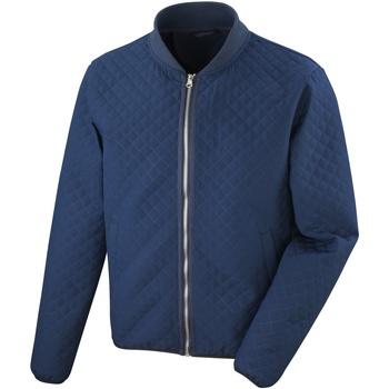 Kleidung Damen Jacken Result R405F Marineblau