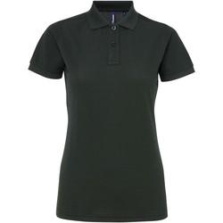 Kleidung Damen Polohemden Asquith & Fox AQ025 Flaschengrün