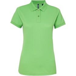 Kleidung Damen Polohemden Asquith & Fox AQ025 Limette