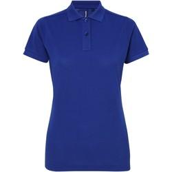 Kleidung Damen Polohemden Asquith & Fox AQ025 Königsblau