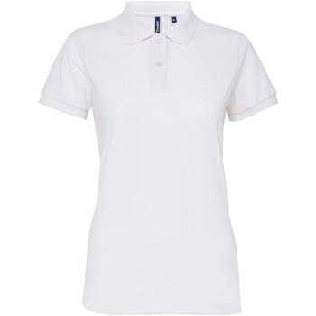 Kleidung Damen Polohemden Asquith & Fox AQ025 Weiß