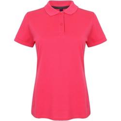 Kleidung Damen Polohemden Henbury HB102 Fuchsia
