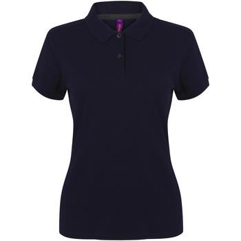 Kleidung Damen Polohemden Henbury HB102 Marineblau