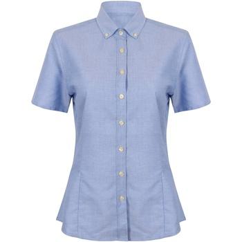 Kleidung Damen Hemden Henbury HB518 Blau