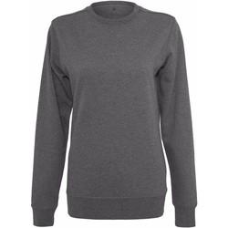 Kleidung Damen Sweatshirts Build Your Brand BY025 Anthrazit