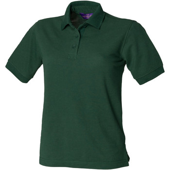 Kleidung Damen Polohemden Henbury HB401 Flaschengrün