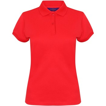Kleidung Damen Polohemden Henbury Coolplus Rot