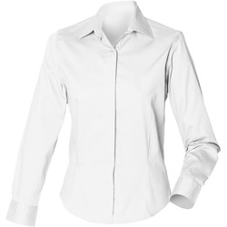 Kleidung Damen Hemden Henbury HB551 Weiß