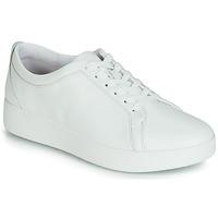 Schuhe Damen Sneaker Low FitFlop RALLY SNEAKER Weiss
