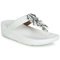 Schuhe Damen Zehensandalen FitFlop JIVE TREASURE Weiss