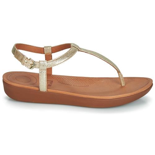 Fitflop Tia Gold - Kostenloser Versand   Schuhe Zehensandalen Damen 10900